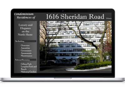 Website For Condominium Association home page