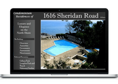 Website For Condominium Association amenities page