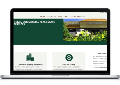 Website For Real Estate Broker services page